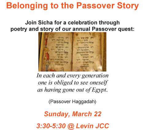 Belonging to the Passover Story
