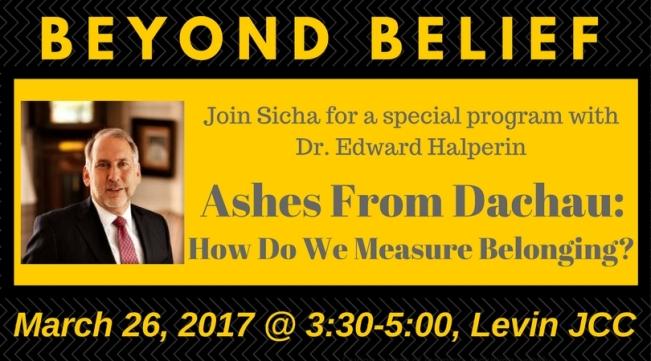 Beyond Belief 3.26.2017 postcard