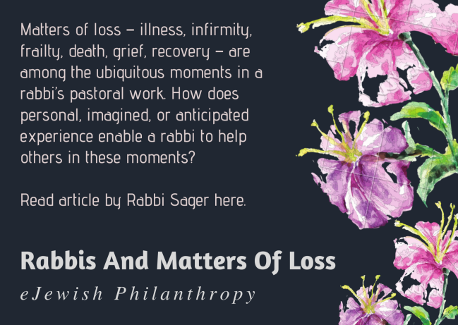 Rabbis and Matters of Loss
